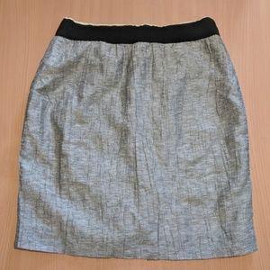 J. Crew lined skirt